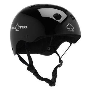 Pro Tec Gloss Black Classic Skate Helmet